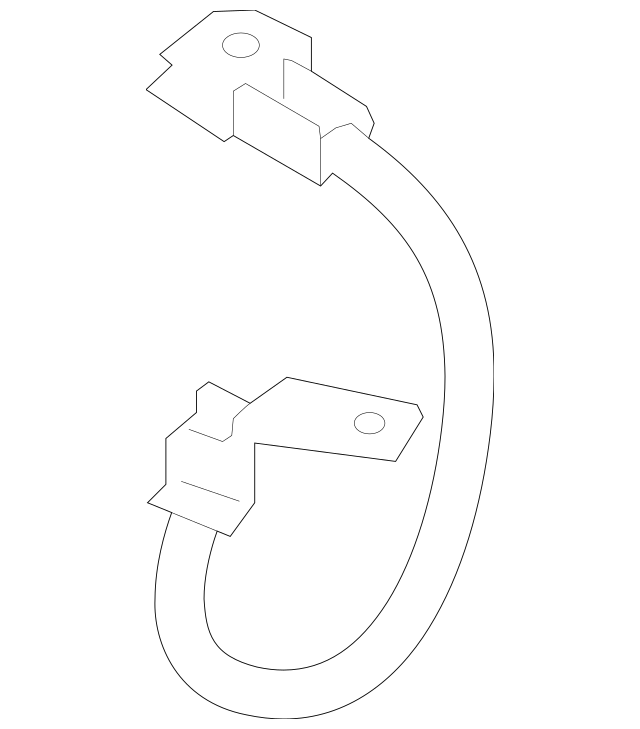 2012-2014 Hyundai Veloster Negative Cable 91880-2V130