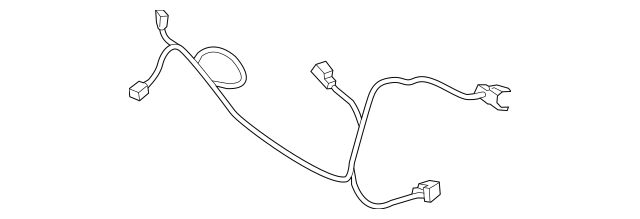 2013-2016 Ford Fusion Wire Harness DG9Z-8C290-C