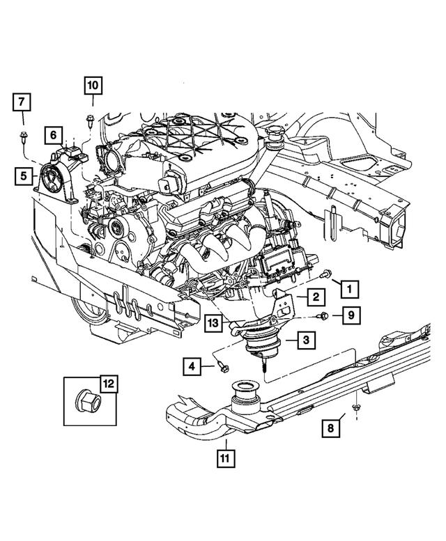 2005 Chrysler Pacifica Engine Diagram / 2005 Chrysler