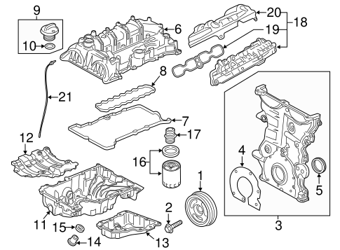 Malibu Engine Diagram