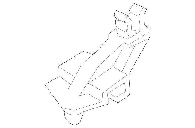 2011-2014 Mazda 2 Support Rod Retainer Clip D651-56-652