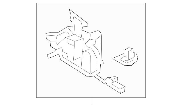 2011-2016 Honda CR-Z HATCHBACK Lock Assembly, Hood