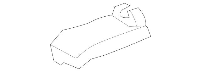 2008-2010 Toyota Highlander Track End Cover 72158-0E050-E0