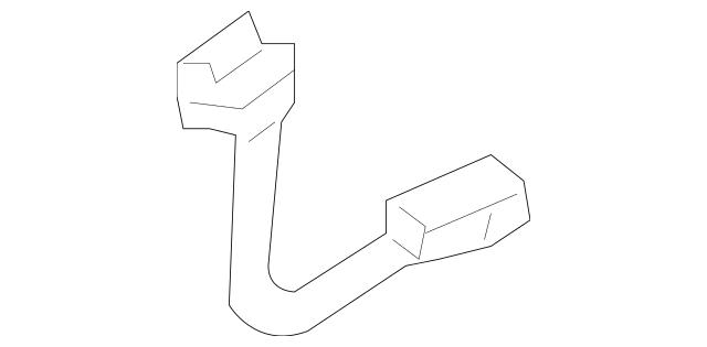 2003-2005 Honda CIVIC HYBRID SEDAN Wire Harness, Cooling