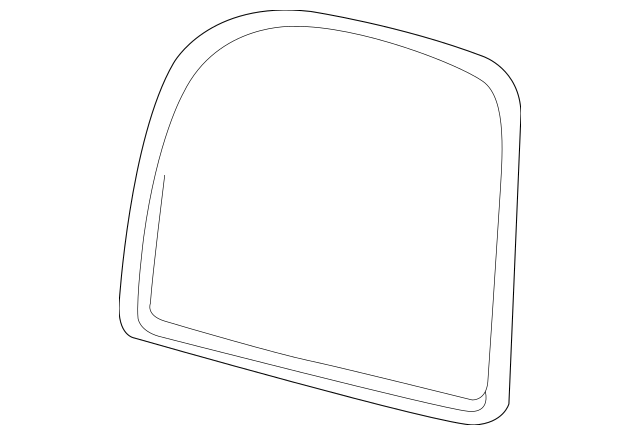 2000-2005 Ford Excursion Mirror Glass 4C7Z-17K707-AA