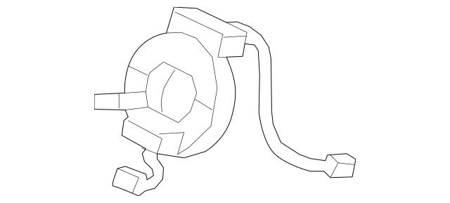 2009-2014 Acura Reel Assembly, Cable (Furukawa) 77900-TA0