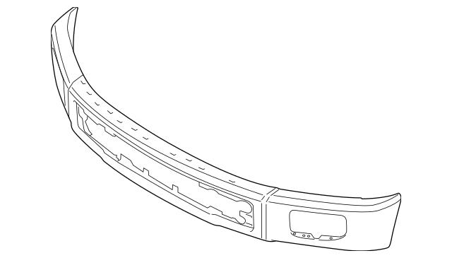 Bumper for 2015 Ford F-150|FL3Z-17757-A : Quirk Auto Parts