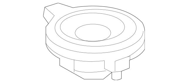 2015-2018 Mercedes-Benz Inst Panel Speaker 246-820-02-02