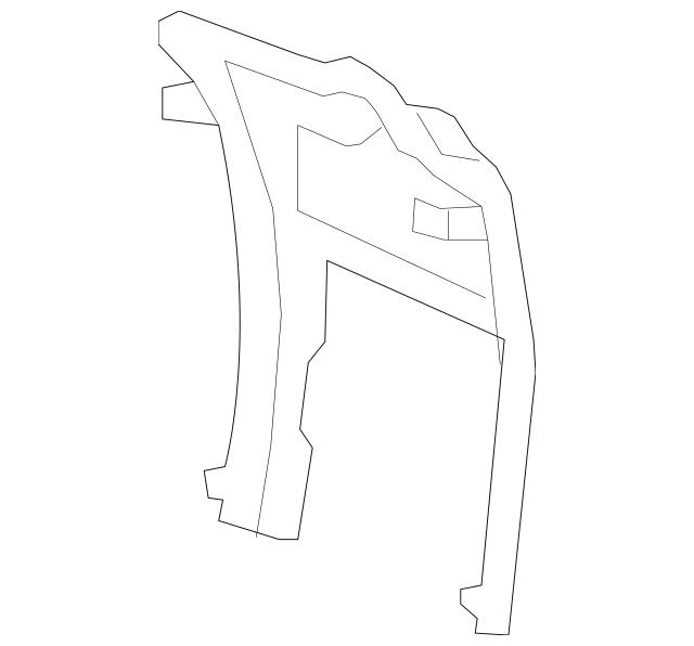 Discount Genuine OEM 2009-2015 Honda PILOT 5-DOOR Bracket