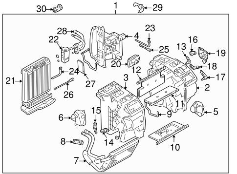 Condenser, Compressor & Lines for 2006 Suzuki Aerio