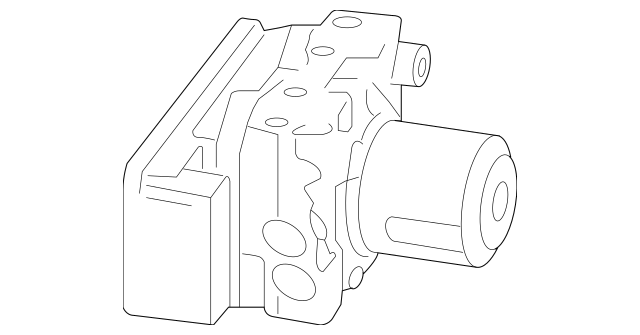 2009-2010 Honda FIT 5-DOOR Modulator Assembly, Abs (coo