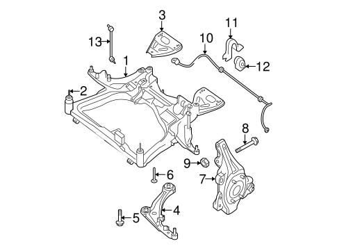 2012 Nissan Altima Parts Diagram