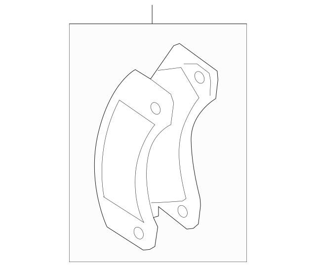 2011-2018 Porsche Cayenne Brake Pads 958-351-939-30