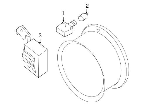 Tire Pressure Monitor Components for 2008 Nissan Altima