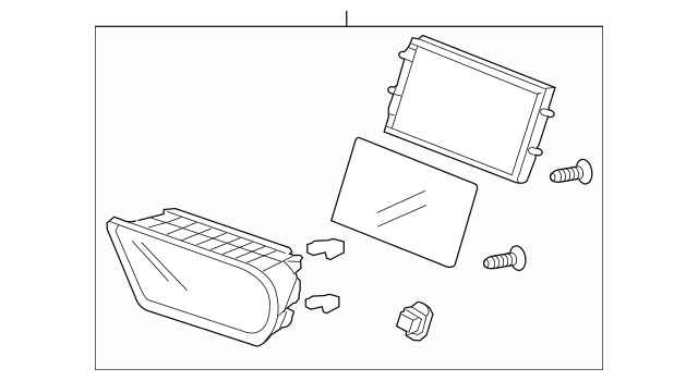 2011-2014 Acura TSX SEDAN Display Assembly, Navigation