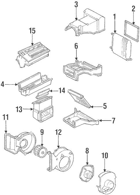 Condenser, Compressor & Lines for 1994 GMC C1500 Pickup