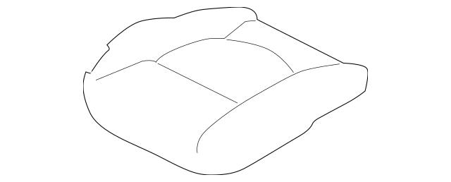 2010-2013 Kia Forte Koup Cushion Cover 88160-1M620AFU