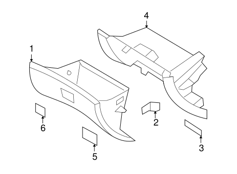 2007 Hyundai Sonata Parts Diagram