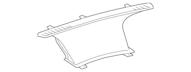 2004-2009 Toyota Prius Defroster Nozzle 55950-47020