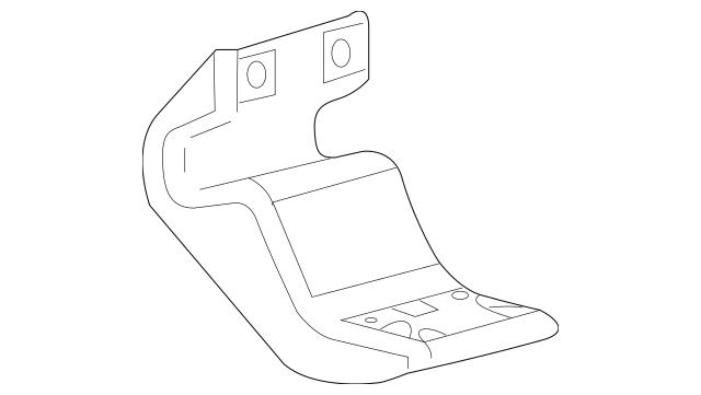 Genuine OEM Bracket Part# 4L3Z-16A506-AA Fits 2004-2014