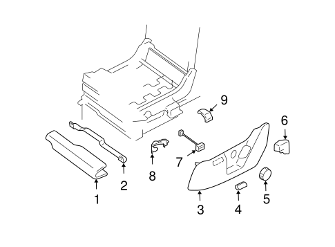 Tracks & Components for 2004 Ford Expedition