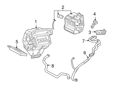 Heater for 2005 Ford Escape