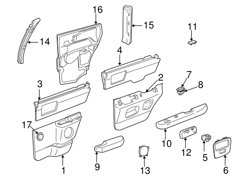 Switch for 2001 Chevrolet Blazer|15686634 : GM Parts