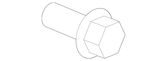 2001-2014 Acura Clip, Rear Panel *NH167L* (Graphite Black