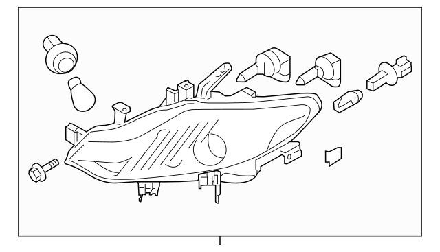 2009-2010 Nissan Murano Composite Assembly 26010-1AA0A