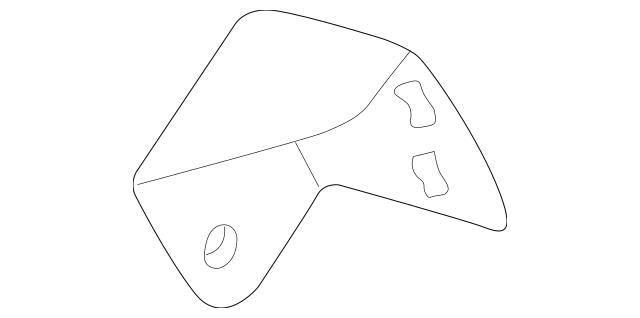 1995-2002 Mazda Millenia Alternator Adjuster KL47-18-361