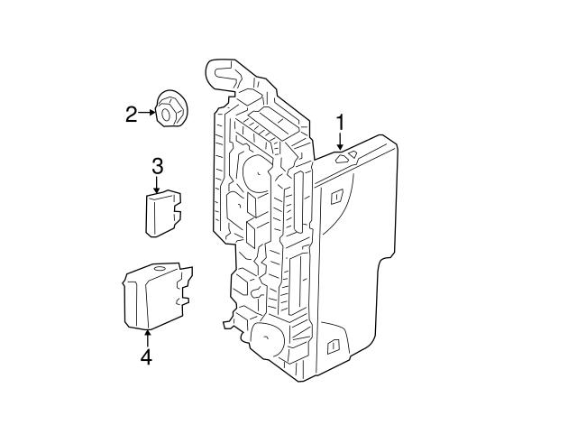 1995-2018 Mercedes-Benz Fuel Pump Relay 002-542-92-19