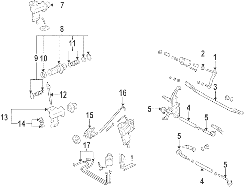 Steering Gear & Linkage for 1985 Mazda RX-7