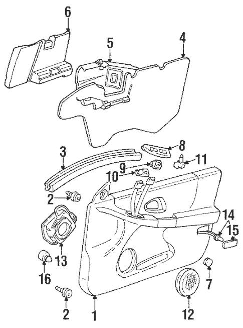 B 52 Speaker Parts