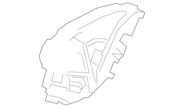 Honda Latch Assembly, R Rear Door Power 72610-TVA-A01