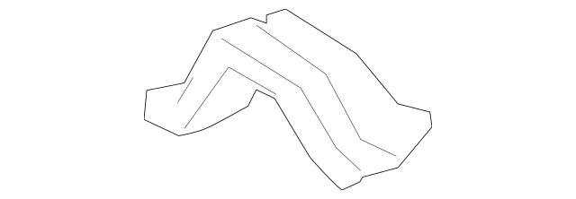 2010-2015 Toyota Center Cross-Member Side Bracket 58244
