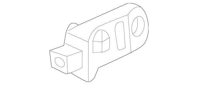 2006-2008 Acura TSX SEDAN Sensor Assembly, Front Crash