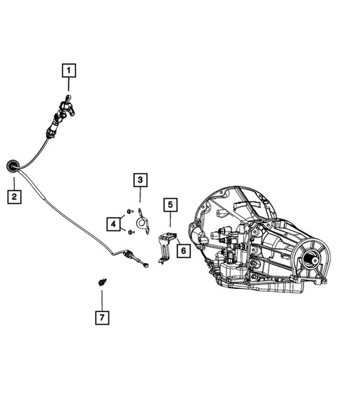 Gearshift Controls and Related Parts for 2008 Dodge Dakota