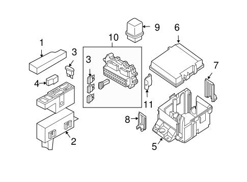 OEM 2004 Nissan Titan Electrical Components Parts