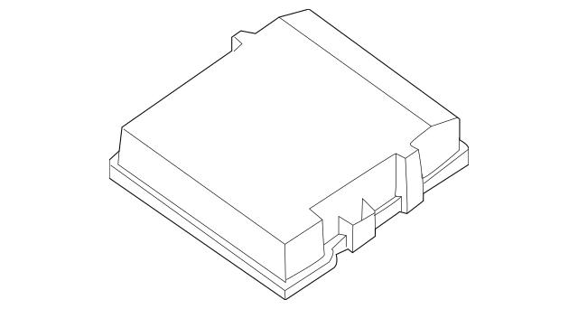 2013-2015 Nissan Titan Fuse Box Cover 24382-9FM0A