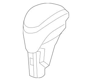 2012-2015 Honda Knob Assembly, Select *NH167L* (Graphite