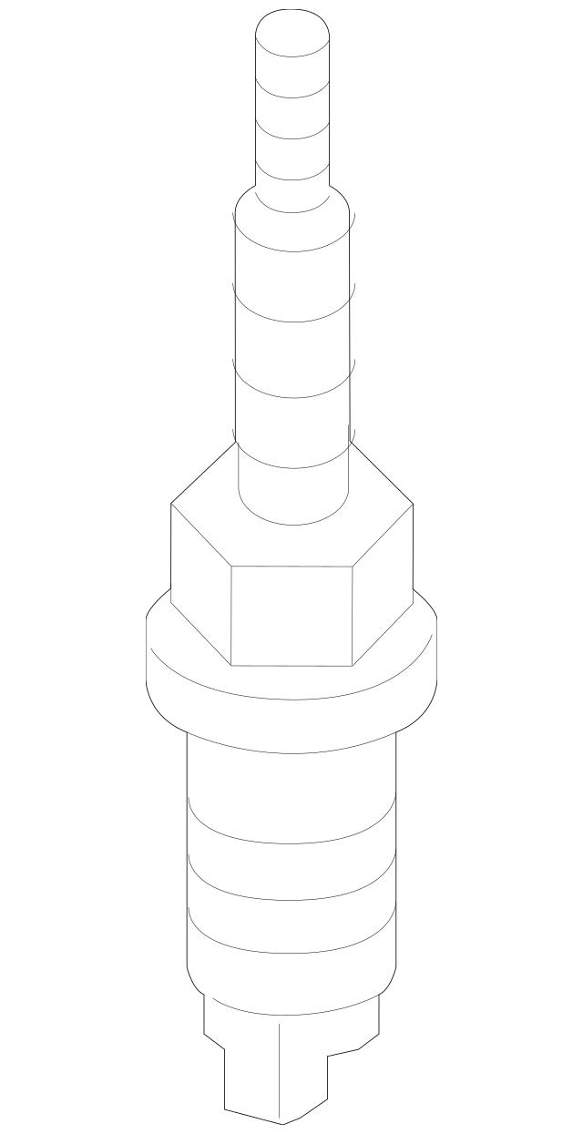 Genuine OEM Spark Plug Part# 1822A086 Fits 2014-2015