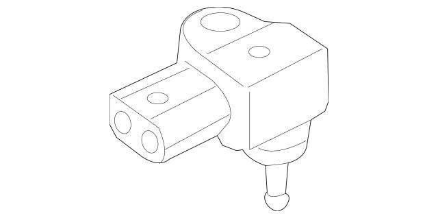 2014-2019 Mercedes-Benz CLA 250 Pressure Sensor 009-153-22