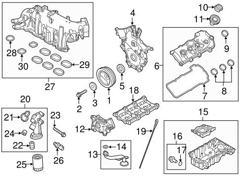 Engine Parts for 2013 Ford Police Interceptor Sedan