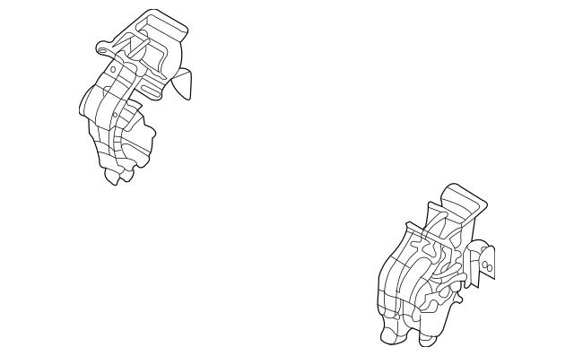 2006-2014 Kia Sedona Evaporator Case 97134-4D000