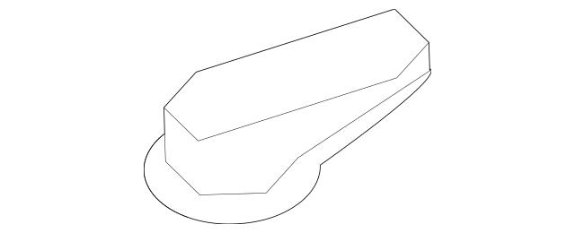 2007-2012 Hyundai Santa Fe W/s Hood Nozzle Right[pass