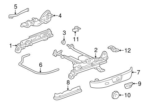 95 Toyota Tacoma Front Suspension Diagram