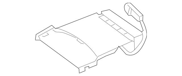 2013-2019 Nissan Pathfinder Seat Cushion Heater 87335