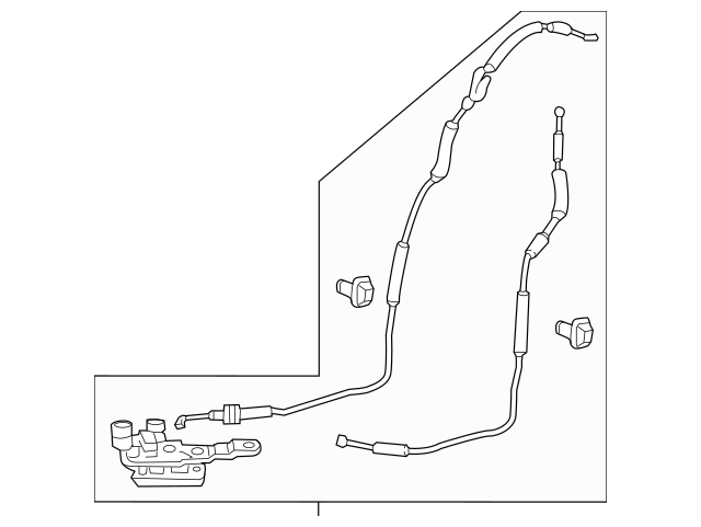 2011-2013 Honda ODYSSEY 5-DOOR Control Assembly, L Slide