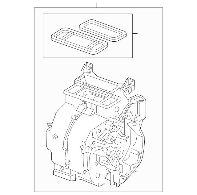 Discount Genuine OEM 2011-2016 Honda CR-Z HATCHBACK Heater