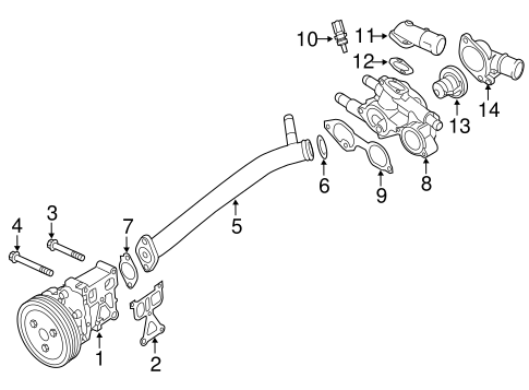 Powertrain Control for 2016 Mitsubishi Outlander Sport